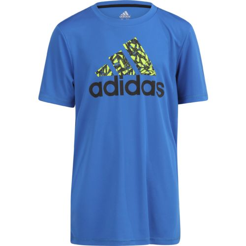 adidas Boys' climalite Badge of Sport T-shirt - view number 1