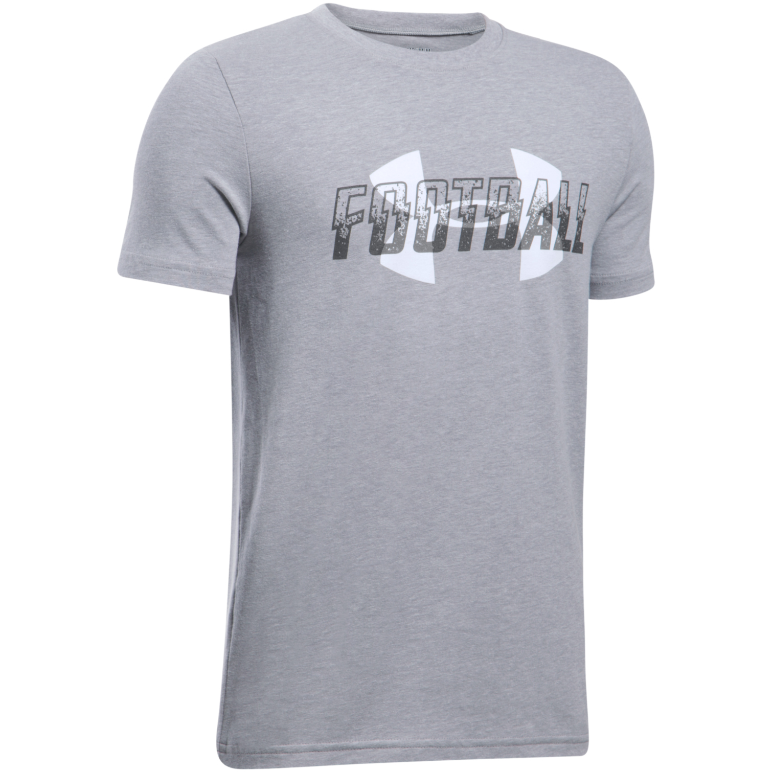 Black t shirt under button down - Under Armour Boys Football Overlay Short Sleeve T Shirt