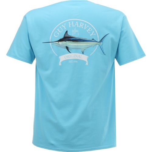 Guy Harvey Men's Members Only Pocket T-shirt