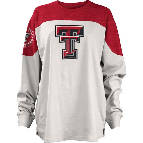 Three Squared Juniors' Texas Tech University Cannondale Long Sleeve T-shirt