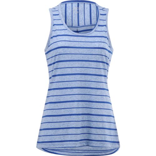 BCG Women's Lifestyle Striped Muscle Tank Top