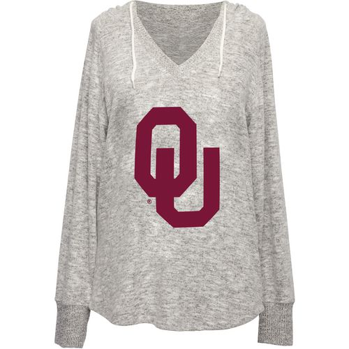 Chicka-d Women's University of Oklahoma V-neck Hoodie