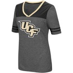 Colosseum Athletics Women's University of Central Florida Twist V-neck 2.3 T-shirt - view number 1