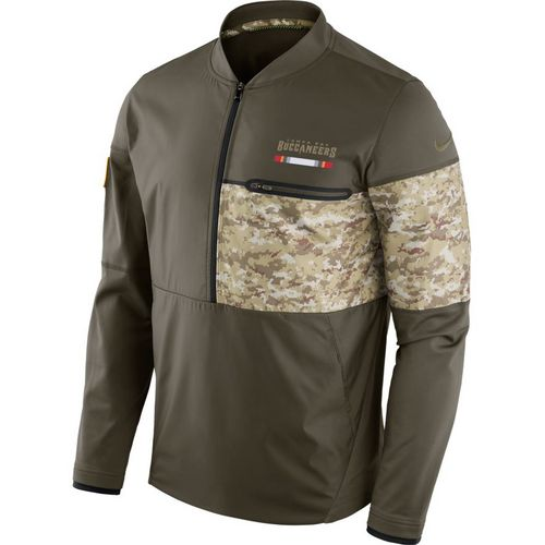 Nike Men's Tampa Bay Buccaneers Salute To Service Hybrid Jacket