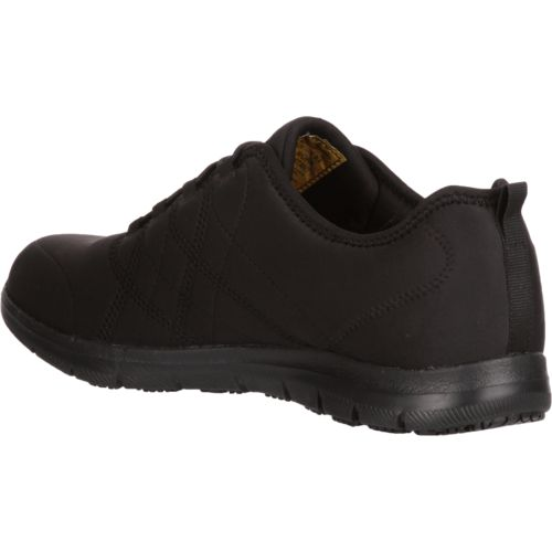 SKECHERS Womenu0026#39;s Ghenter Srelt SR Work Shoes | Academy