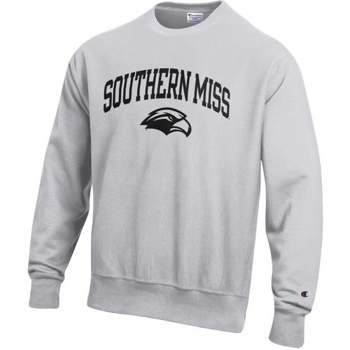 Champion Men's University of Southern Mississippi Reverse Weave Crew Sweatshirt