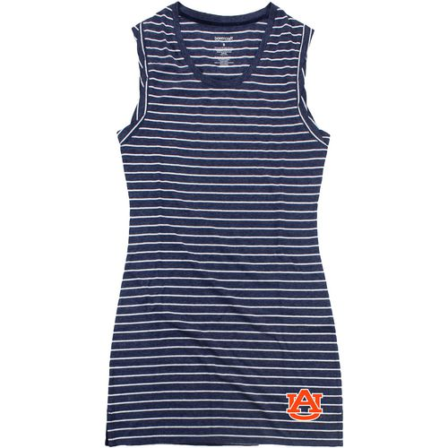 Boxercraft Women's Auburn University Striped Sleep T-shirt