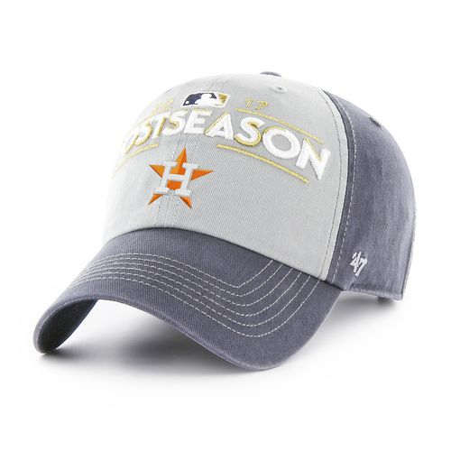 '47 Astros 2017 Postseason Locker Room Vintage Clean Up Cap