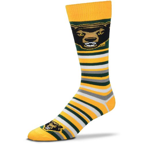 For Bare Feet Baylor University Lotta Stripe Dress Socks