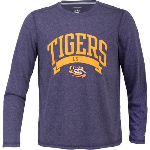 Champion Men's Louisiana State University In Pursuit Long Sleeve T-shirt