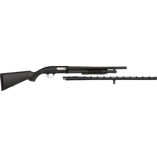 Mossberg Maverick 88 Combo 12 Gauge Pump-Action Shotgun