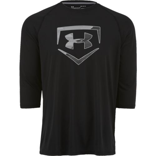 Under Armour Men's Plate Icon 3/4 Sleeve Shirt