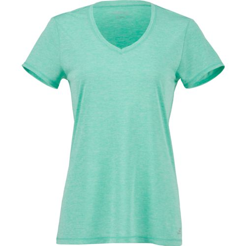 Display product reviews for BCG Women's Heather V-neck Training Tech T-shirt