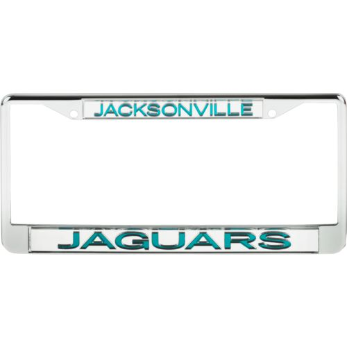 Stockdale Jacksonville Jaguars Mirrored License Plate Frame