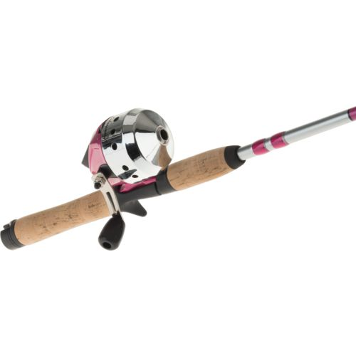 Shakespeare Catch More Fish Women's 5 ft 6 in M Spincast Rod and Reel Combo - view number 5