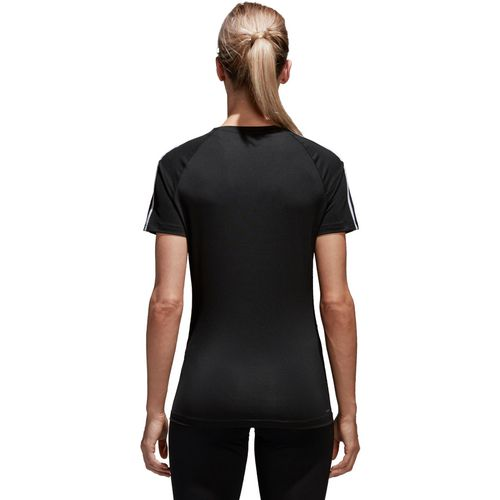 adidas Women's D2M 3-Stripes T-shirt - view number 7