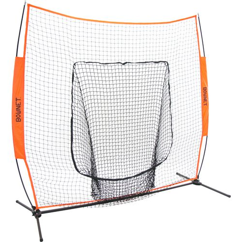 Bownet Big Mouth X 7 ft x 7 ft Portable Baseball Hitting Net