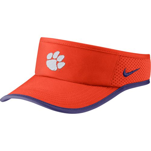 Nike Men's Clemson University Dri-FIT Featherlight Visor