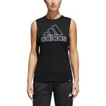 adidas Women's GTP Badge of Sport Muscle Tank Top - view number 2