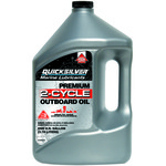 Mercury Marine Premium 1-gallon 2-Cycle TC-W3 Outboard Oil - view number 1