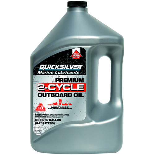 Mercury Marine Premium 1-gallon 2-Cycle TC-W3 Outboard Oil