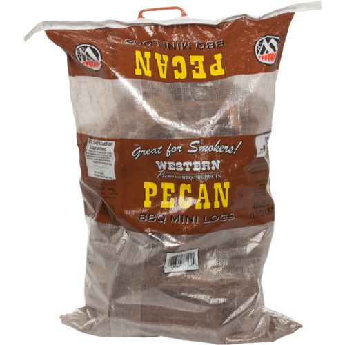 Western Pecan Barbecue Mini Logs
