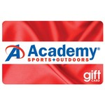 Academy  Gift Card - Red