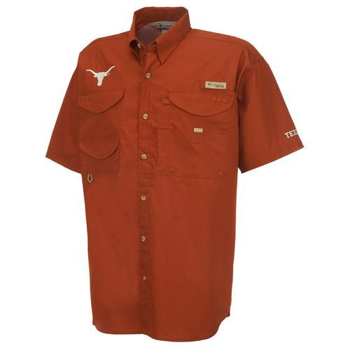 Columbia Sportswear Men's Collegiate Bonehead™ University of Texas Short Sleeve Shirt