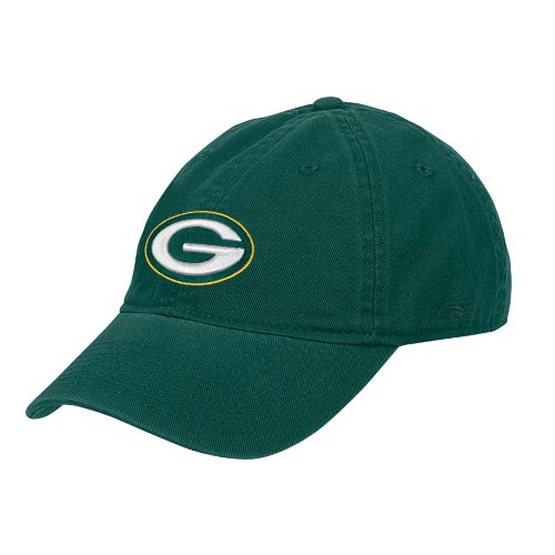 Reebok Women's Green Bay Packers Slouch Adjustable Cap