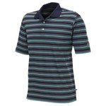 adidas Men's Performance 3-Color Stripe Polo