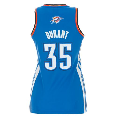 adidas™ Women's Kevin Durant Oklahoma City Thunder Road Jersey - view number 1