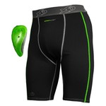 XO Youth XSeries Dual Compression Short with XCup™