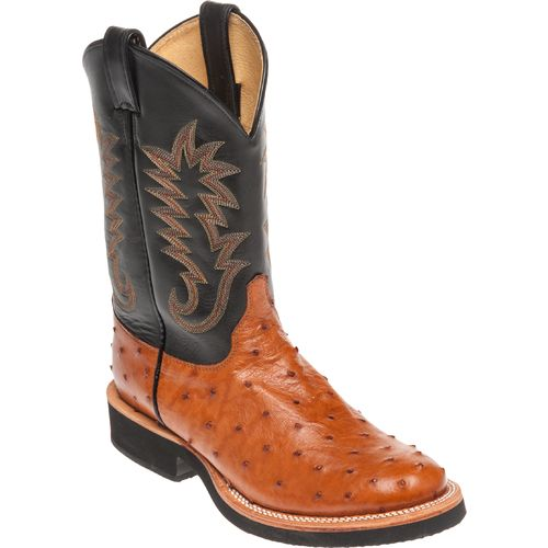 Justin Men's Exotics Full-Quill Ostrich Western Boots - view number 3