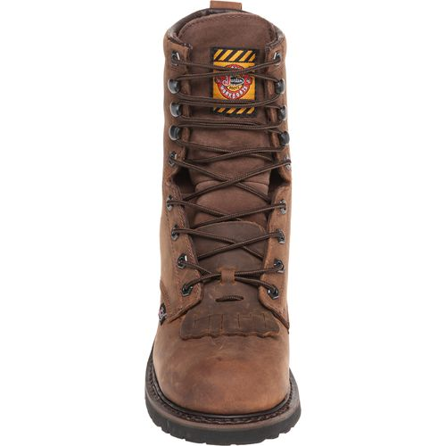 Justin Men's Wyoming Waterproof Steel Toe Work Boots - view number 3