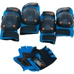 Bell Boys' Riderz Bike Pad and Glove Set