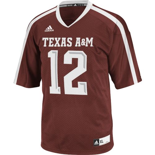 adidas™ Men's Texas A&M University Premier Football Replica Jersey