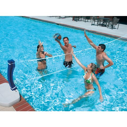 Display product reviews for SwimWays 2 in 1 Game™ Pool Game Set