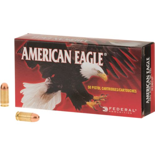 Federal Premium® American Eagle® .380 Auto (9 x 17mm Short) 95-Grain Handgun Ammunition