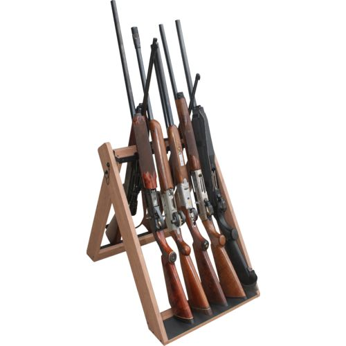 Rush Creek Folding 10-Gun Rack - view number 1