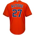 Majestic Men's Houston Astros Jose Altuve #27 Cool Base Replica Jersey