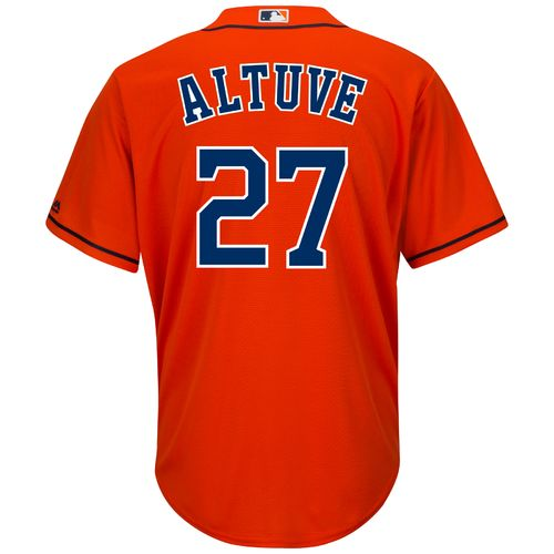 Majestic Men's Houston Astros Jose Altuve #27 Cool Base® Replica Jersey