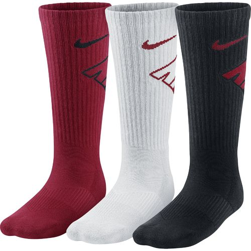 Nike Boys' Graphic Crew Cotton Cushion Socks
