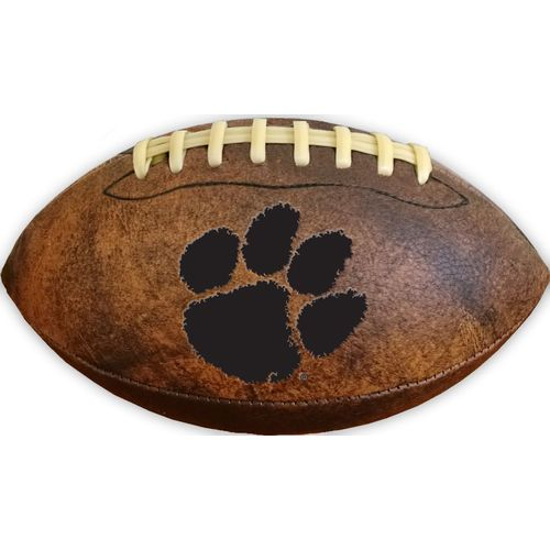 GameMaster Clemson University Vintage Synthetic Leather Football