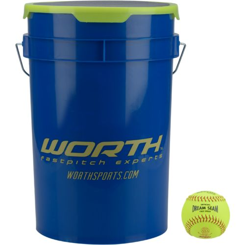Worth® Fast-Pitch WFP12A Softballs 24-Pack
