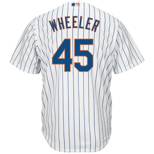 Majestic Men's New York Mets Zack Wheeler #45 Cool Base® Replica Jersey