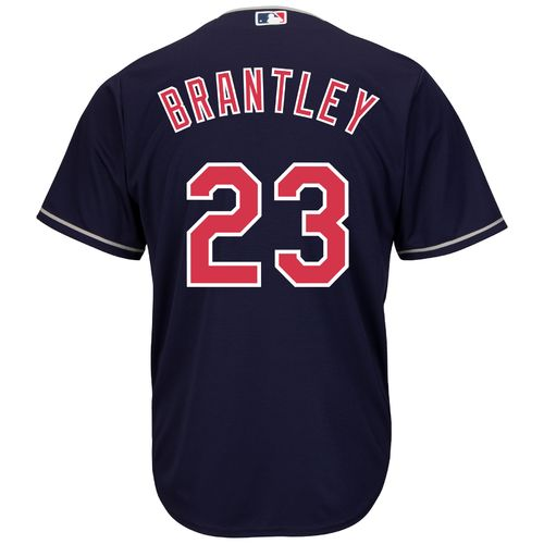 Majestic Men's Cleveland Indians Michael Brantley #23 Cool Base® Alternate Jersey - view number 1