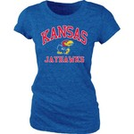 Blue 84 Juniors' University of Kansas Triblend T-shirt