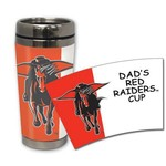 The Fanatic Group Texas Tech University 16 oz. Stainless-Steel Tumbler