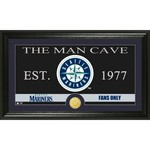The Highland Mint Seattle Mariners Man Cave Bronze Coin Photo Mint
