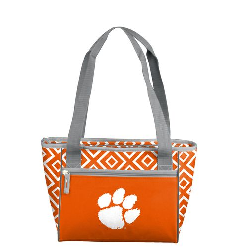 Logo™ Clemson University Double Diamond 16-Can Cooler Tote